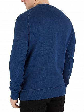 Levi's Indigo Graphic Sweatshirt