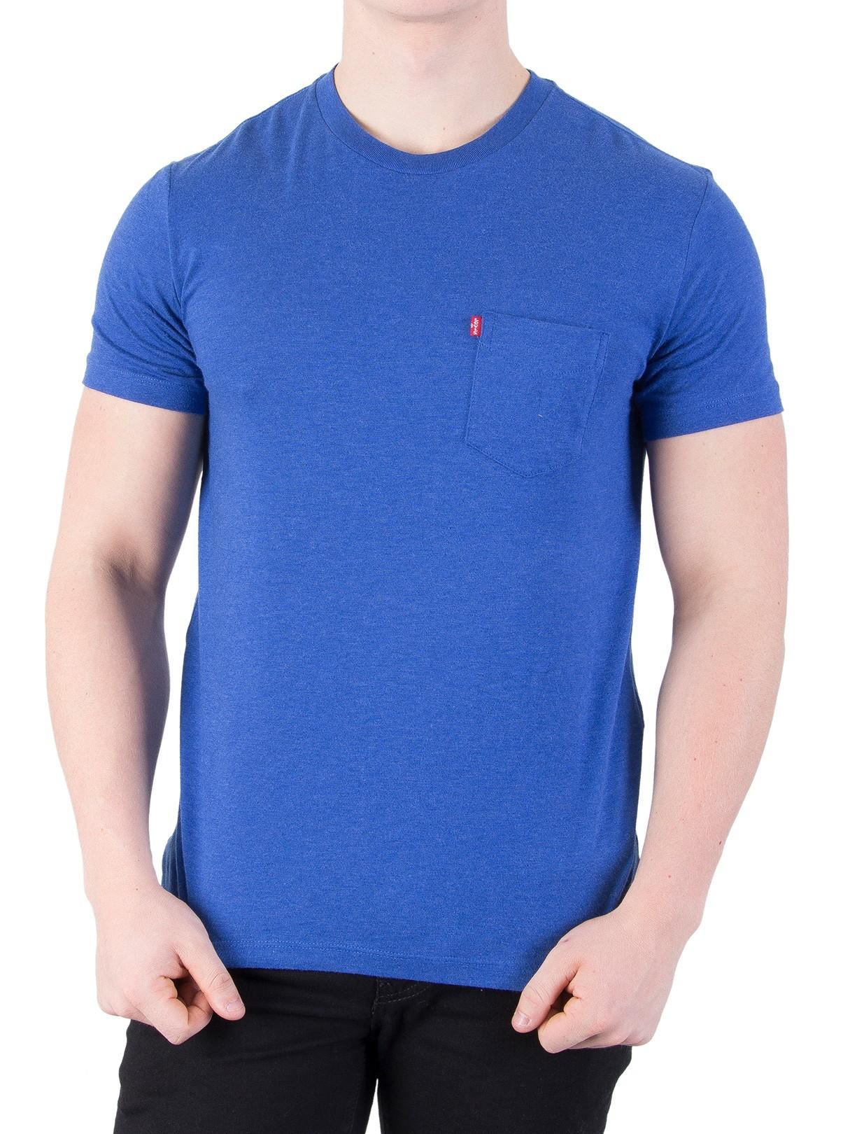 4663f0c67a38 Levi s True Blue Setin Sunset Pocket T-Shirt