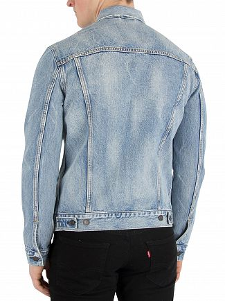 Levi's Rolled Up Dollar Trucker Jacket