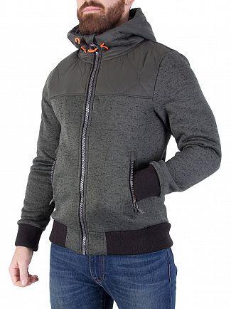 Superdry Olive Storm Mountain Hybrid Jacket