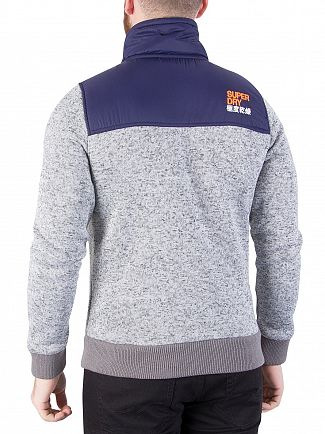 Superdry Grey Grit Storm Mountain Track Jacket