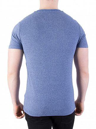 Superdry Blue Stone Vintage EMB Feeder T-Shirt