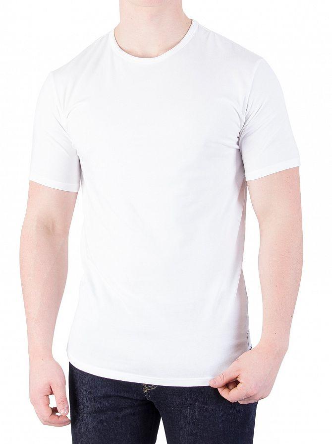 Calvin Klein Men s 2 Pack ID Crew Slim T-Shirts 7e42e389946