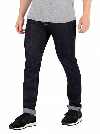 Carhartt WIP Blue Rebel Slim Tapered Jeans