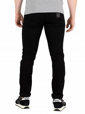 Carhartt WIP Black Rebel Slim Tapered Jeans