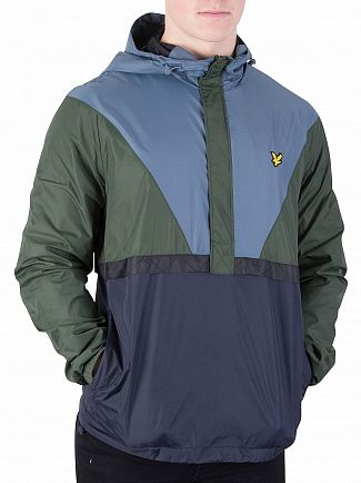 Lyle & Scott Leaf Green Showerproof Jacket
