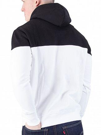 Sik Silk Black/White Cut & Sew 89 Pullover Hoodie