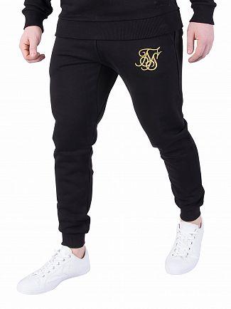Sik Silk Black/Gold Standard Joggers