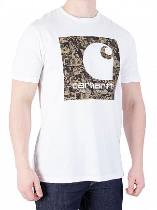 Carhartt WIP White Collage T-Shirt