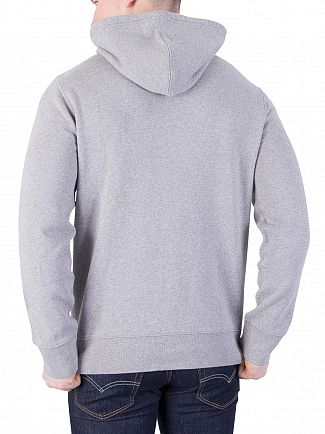 Levi's Grey 84 Graphic Pullover Hoodie