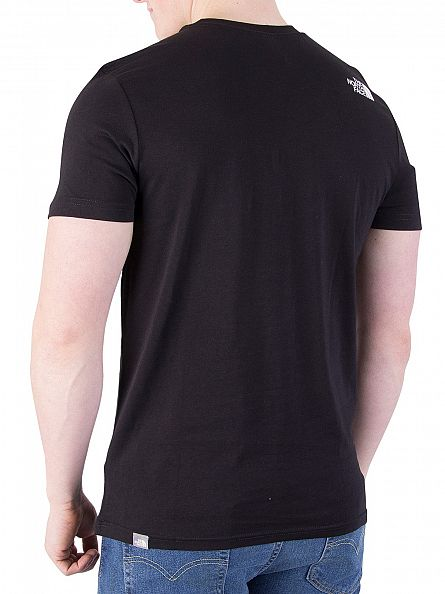 The North Face Black Simple Dome Logo T-Shirt