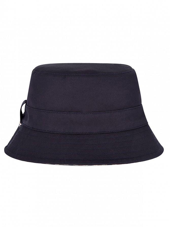 Aquascutum Men s Reversible Bucket Hat 50c47d2fbdb3