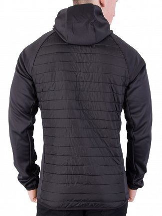 Jack & Jones Black Multi Quilted Jacket