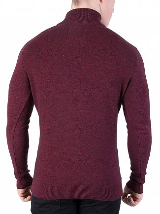 Superdry Red Hook Grit Metropolitan Northside Henley Knit