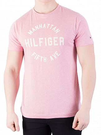 Tommy Hilfiger Rose Tan Heather Owen T-Shirt