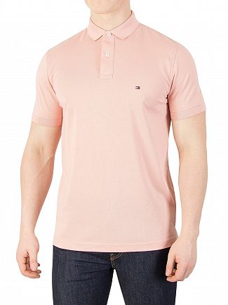 Tommy Hilfiger Rose Tan Regular Poloshirt