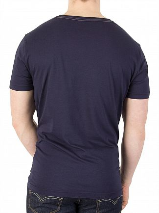Gant Evening Blue NHCT Graphic T-Shirt