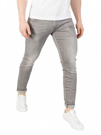 G-Star Tricia Grey 3301 Deconstructed Super Slim Jeans