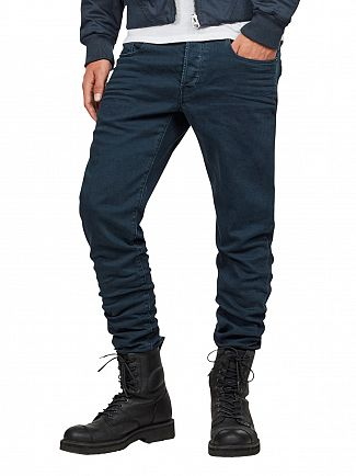G-STAR LEGION BLUE 3301 SLIM JEANS