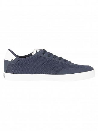 Lacoste Navy/White Court Master 118 1 CAM Trainers