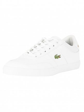 Lacoste White/Navy Court Master 118 2 CAM Trainers
