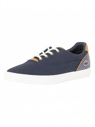 Lacoste Navy/Dark Blue Jouer Lace 118 1 CAM Trainers