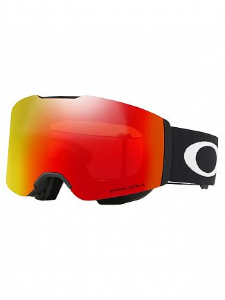 Oakley Matte Black/Torch Iridium Fall line Prizm Snow Goggles