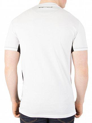11 Degrees White/Black Block T-Shirt