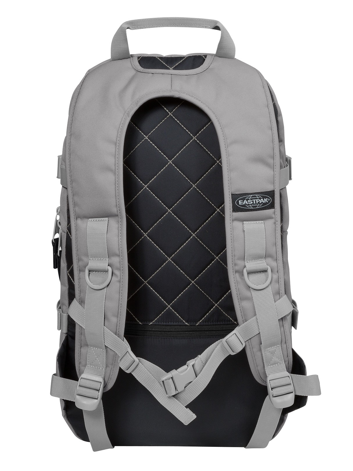 Eastpak Floid Mono Khaki Style Bags T Padded Pakr Tas Ransel Backpack Black Silver