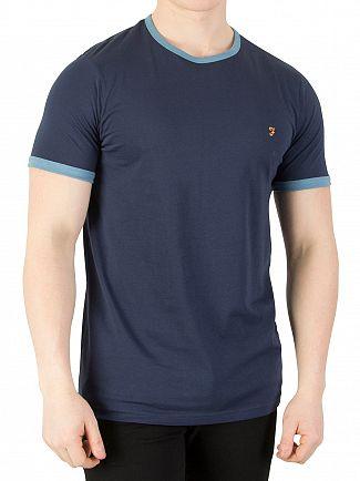 Farah Vintage Yale Groves Ringer T-Shirt
