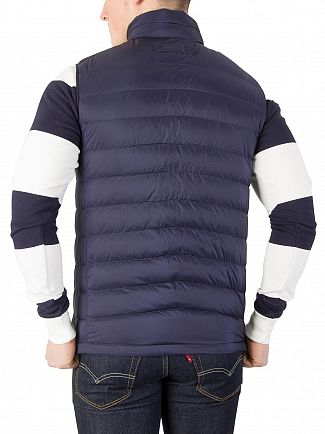 Gant Classic Blue The Airie Down Vest