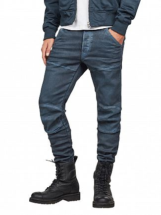 G-Star Dark Aged 5620 3D Slim Jeans