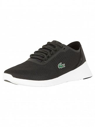 Lacoste Black/Dark Grey LT Fit 118 4 SPM Trainers
