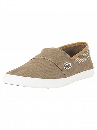 Lacoste Brown/Light Brown Marice 118 1 CAM Trainers