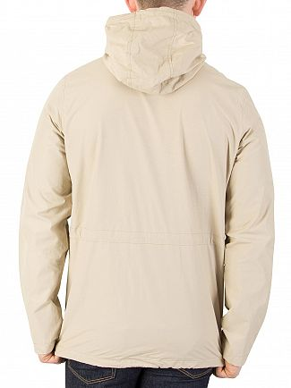 Lyle & Scott Light Stone Hooded Jacket