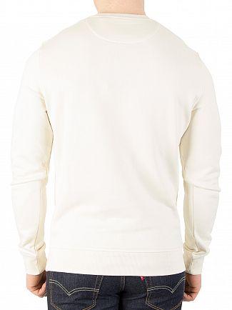 Lyle & Scott Seashell White Logo Sweatshirt