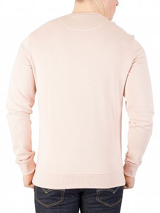 Lyle & Scott Dusty Pink Logo Sweatshirt