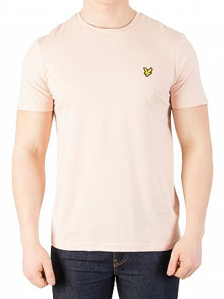 Lyle & Scott Dusty Pink Logo T-Shirt