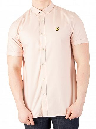 Lyle & Scott Dusty Pink Oxford Shirt