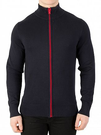 Tommy Hilfiger Sky Captain Contrast Zip Jacket