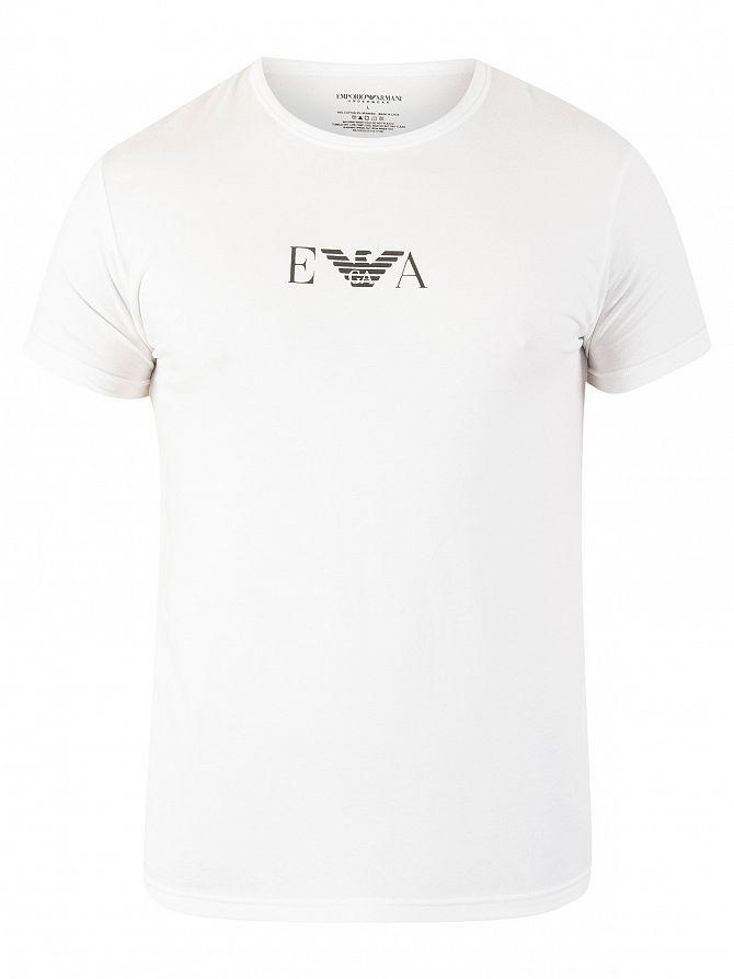 armani uomo t shirt bianca