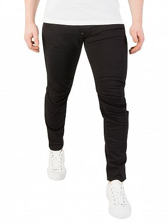 G-Star Rinsed Black 5620 3D Super Slim Jeans