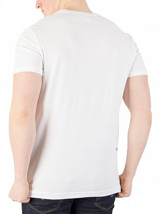 G-Star White Bett Graphic T-Shirt