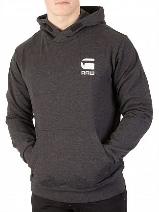 G-Star Dark Black Heather Doax Pullover Hoodie