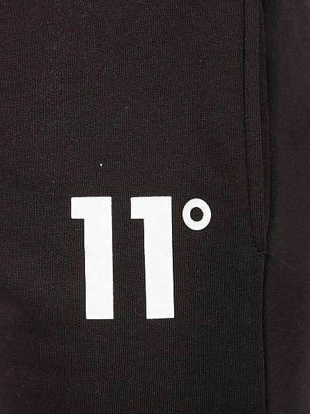 11 Degrees Black Base Logo Joggers