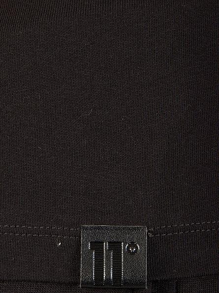 11 Degrees Black Longsleeved Core Logo T-Shirt