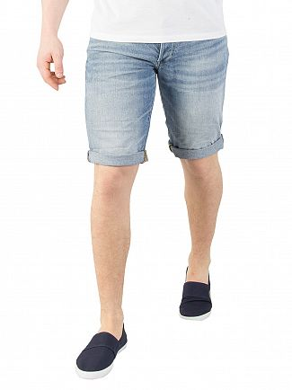 G-Star Light Aged 3301 Denim Shorts