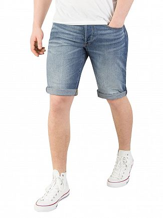 G-Star Medium Aged 3301 Denim Shorts