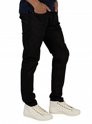 G-Star Black Raw Denim 3301 Slim Jeans