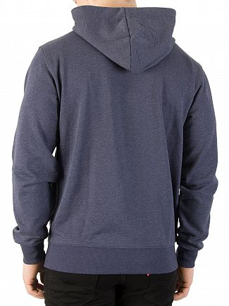 G-Star Sartho Blue Heather Doax Zip Hoodie